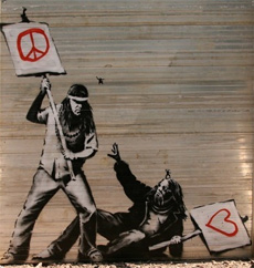Banksy Frieden